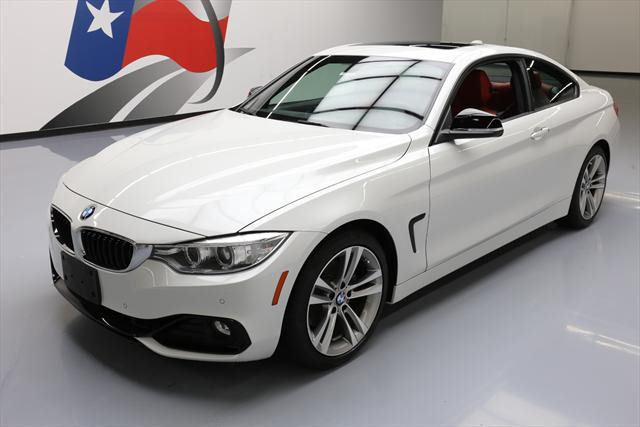 2015 BMW 4-Series (White/Red)