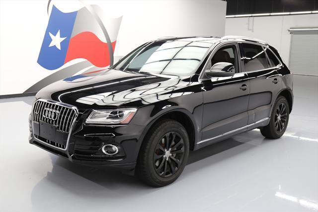 2013 Audi Q5 (Black/Brown)
