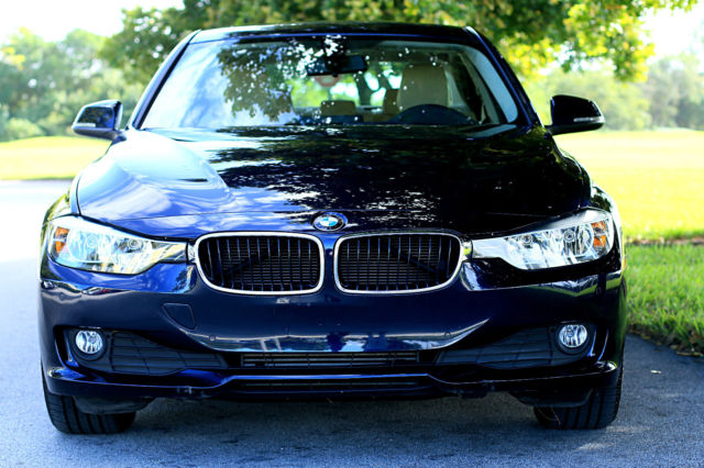 2015 BMW 3-Series (Blue/Tan)