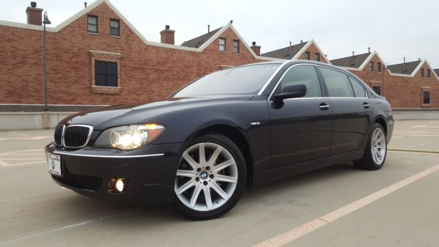 2007 BMW 7-Series (Blue/Tan)