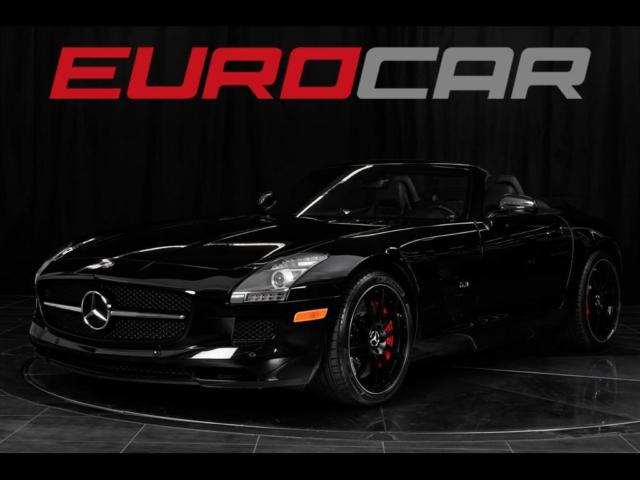 2013 Mercedes-Benz SLS AMG (Black/Black)