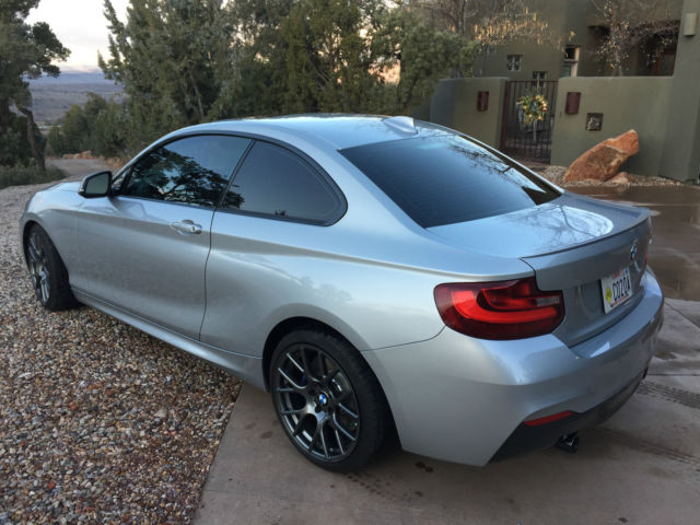 2015 BMW 2-Series (silver/Dakota brown)
