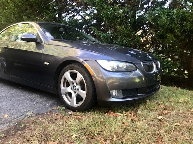 2008 BMW 3-Series (Silver/Red)