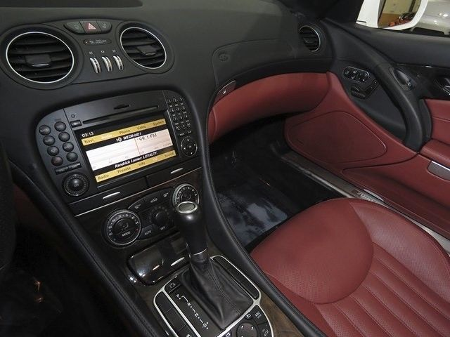 2012 Mercedes-Benz SL-Class (White/Red)