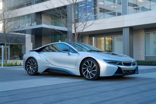 Seller Of German Cars 2014 Bmw I8 Silver Tera Exclusive Dalbergia