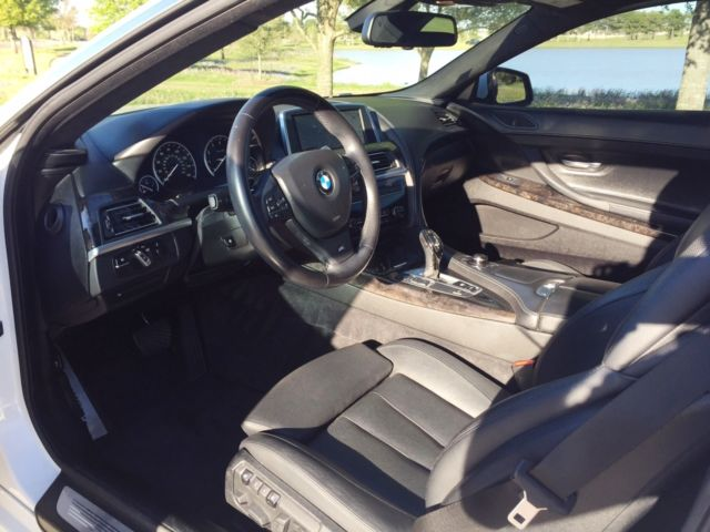 2012 BMW 6-Series (Alpine White/Black Dakota Leather)