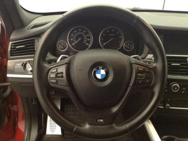 2014 BMW X3 (Red/Tan)