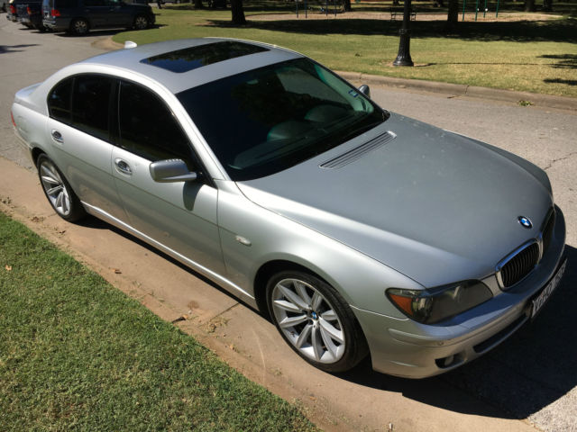 2007 BMW 7-Series (Silver/Black)