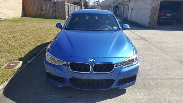 2013 BMW 3-Series (Blue/Brown)