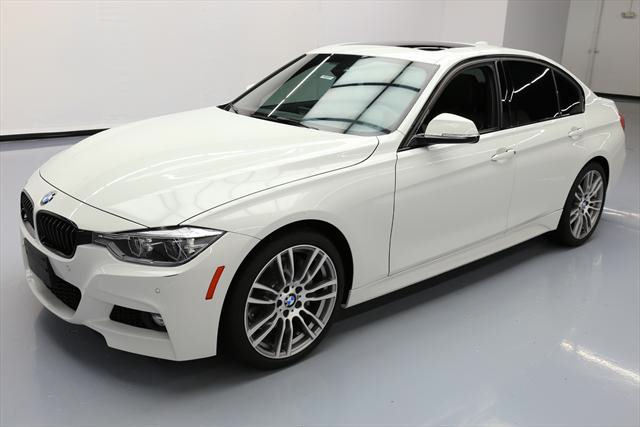 2016 BMW 3-Series (White/Black)