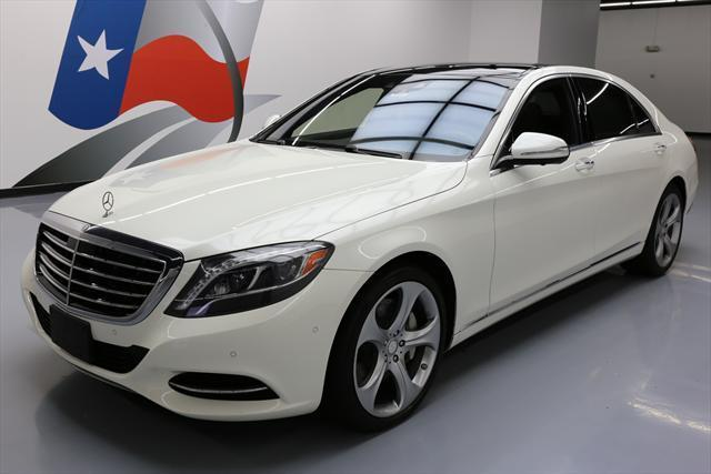 2014 Mercedes-Benz S-Class (White/Black)