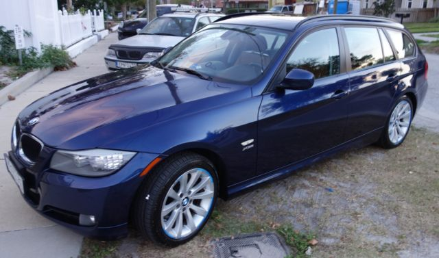 2011 BMW 3-Series (Blue/Leder Dakota)