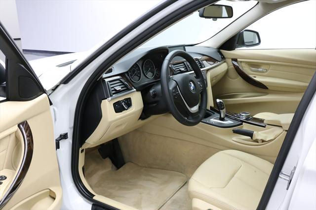 2014 BMW 3-Series (White/Tan)