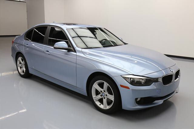 2014 BMW 3-Series (Blue/Black)