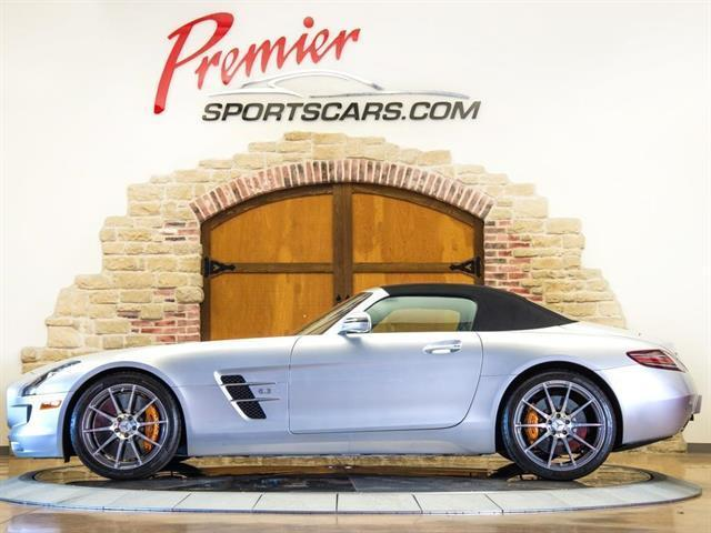 2012 Mercedes-Benz SLS AMG (Gray/Black)