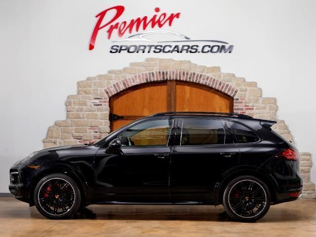 2014 Porsche Cayenne Turbo S (Black/Tan)