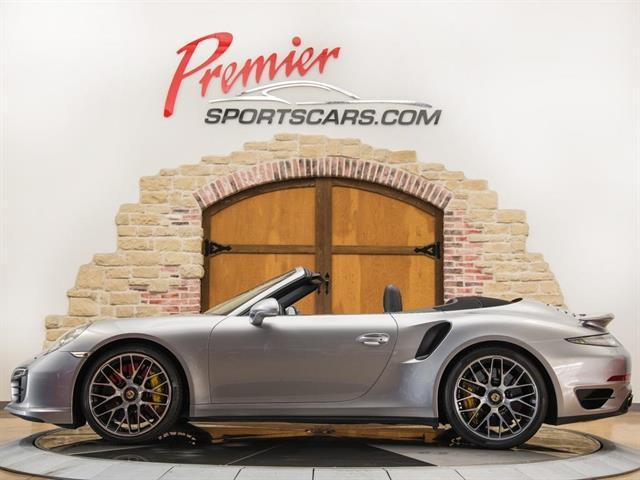 2015 Porsche 911 Turbo S Cabriolet (Gray/Black)