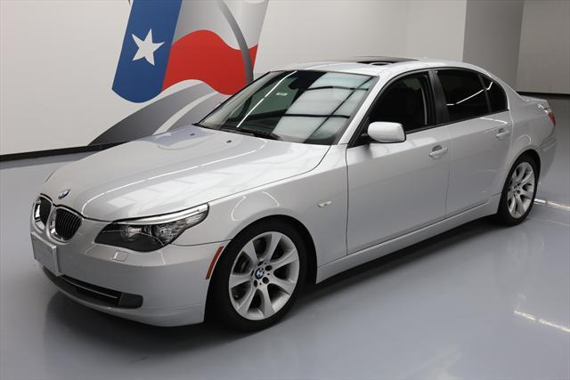 2009 BMW 5-Series (Silver/Black)