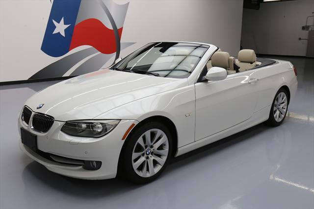 2012 BMW 3-Series (White/Tan)