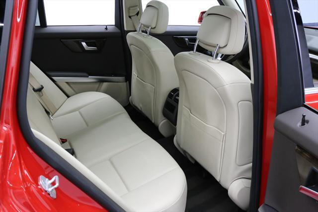 2014 Mercedes-Benz GLK-Class (Red/Tan)