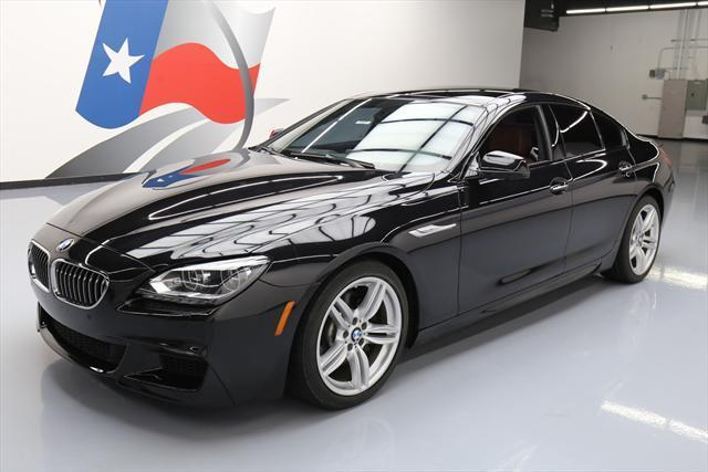 2015 BMW 6-Series (Black/Brown)