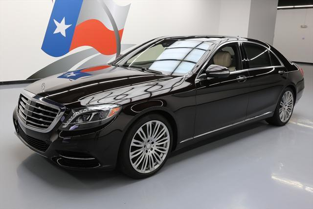 2016 Mercedes-Benz S-Class (Black/White)