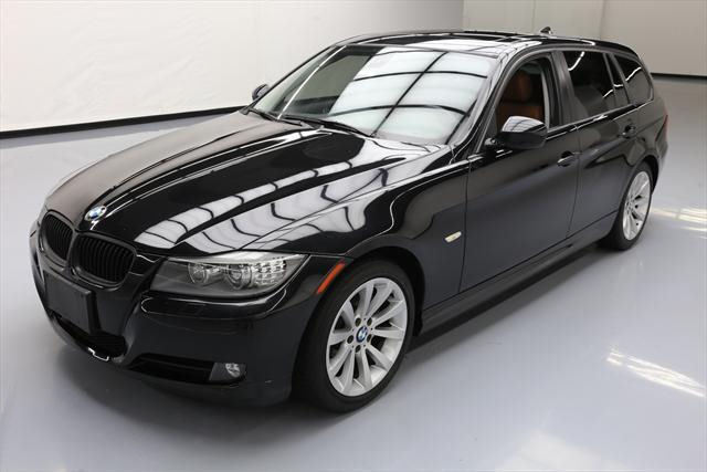 2011 BMW 3-Series (Black/Brown)