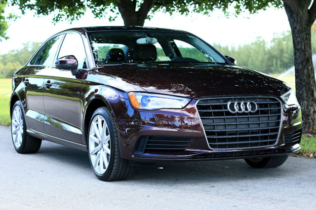 2015 Audi A3 (Purple/Brown)