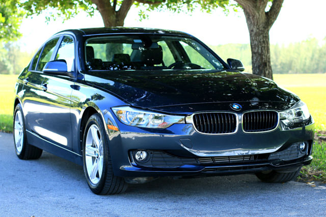 2015 BMW 3-Series (Gray/Black)