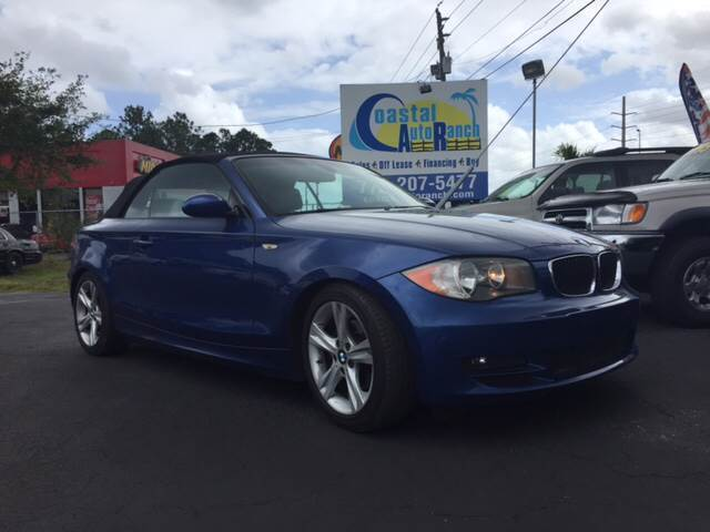 2008 BMW 1-Series (Blue/Gray)