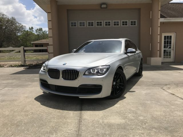 2015 BMW 7-Series (Silver/Black)
