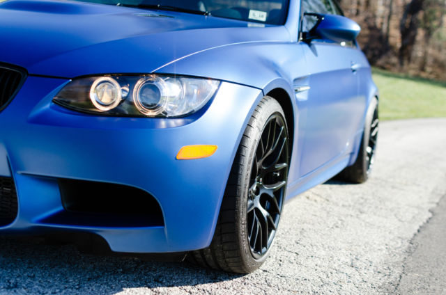 2013 BMW M3 (Blue/Black)