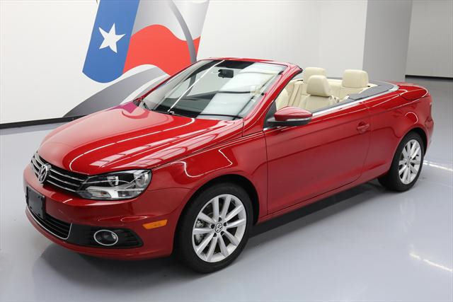2014 Volkswagen Eos (Red/Tan)