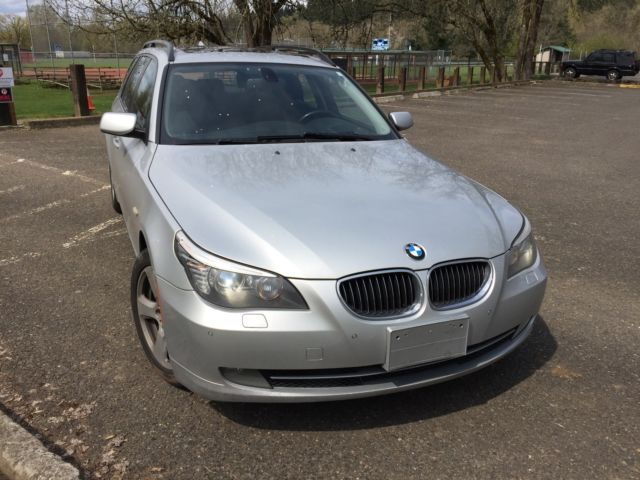 2008 BMW 5-Series (Silver/Black)