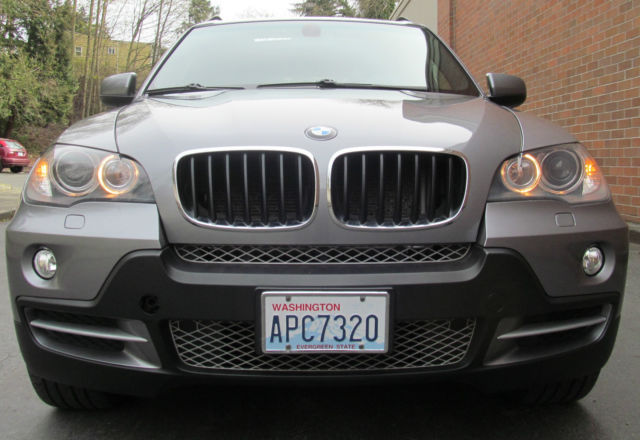 2008 BMW X5 (Space Gray Metallic/Black)