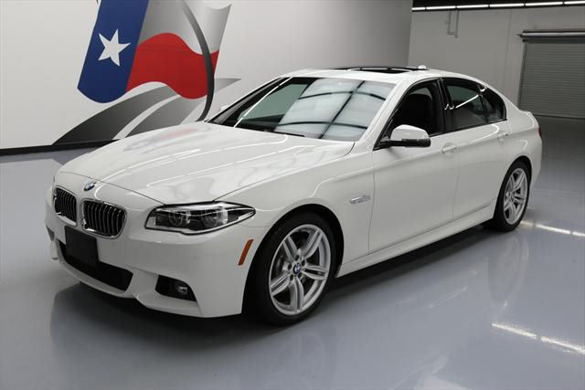 2014 BMW 5-Series (White/Black)