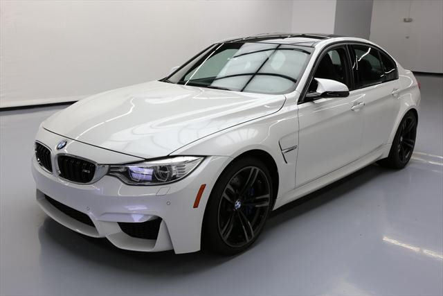 2015 BMW M3 (White/Black)