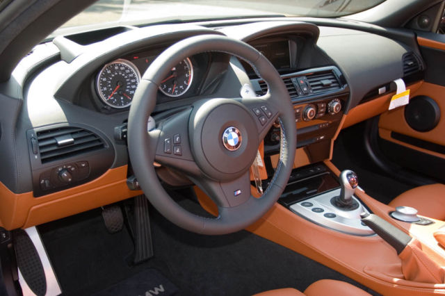 2007 BMW M6 (Ruby Black/Rolls Royce Orange)