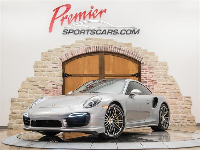 2015 Porsche 911 Turbo S (Gray/Black)