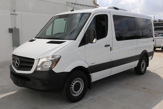 2016 Mercedes-Benz Sprinter (White/Black)