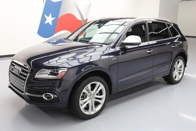 2015 Audi SQ5 (Blue/Brown)
