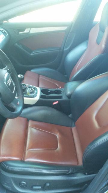 Seller Of German Cars 2011 Audi S4 Brilliant Black Black Brown Silk Nappa Leather Seats