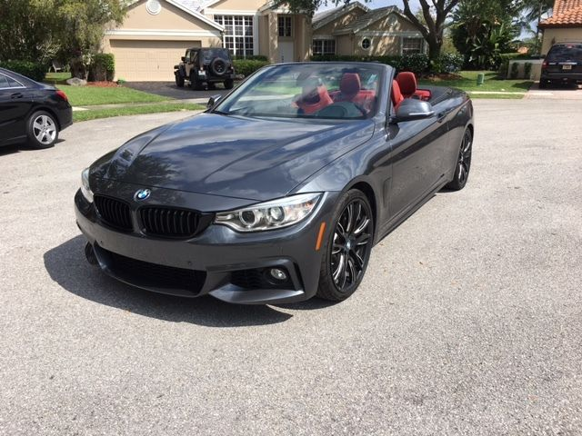 2014 BMW 4-Series (Gray/Red)