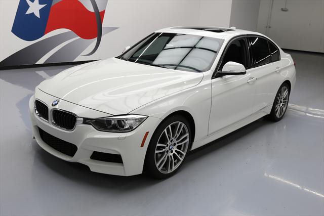 2013 BMW 3-Series (White/Black)