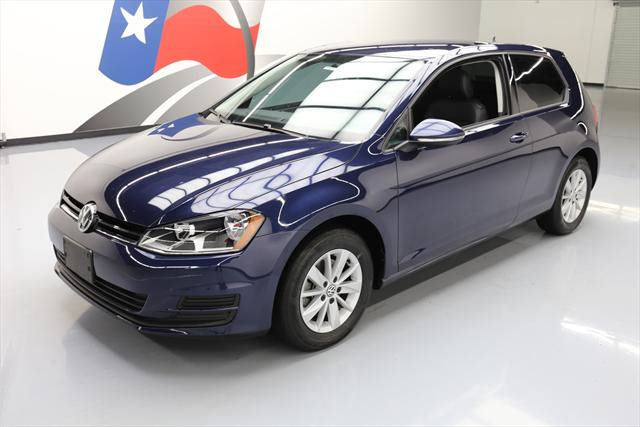 2015 Volkswagen Golf (Blue/Black)