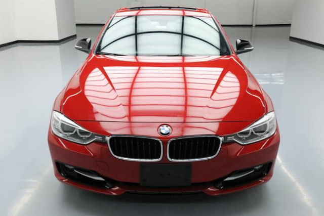 2012 BMW 3-Series (Red/Black)
