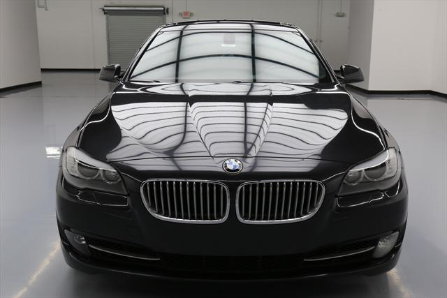 2012 BMW 5-Series (Gray/Black)