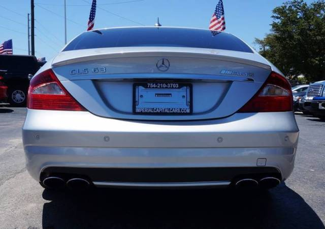 2007 Mercedes-Benz CLS-Class (Iridium Silver Metallic/Gray)