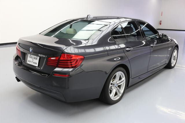 2014 BMW 5-Series (Gray/Tan)