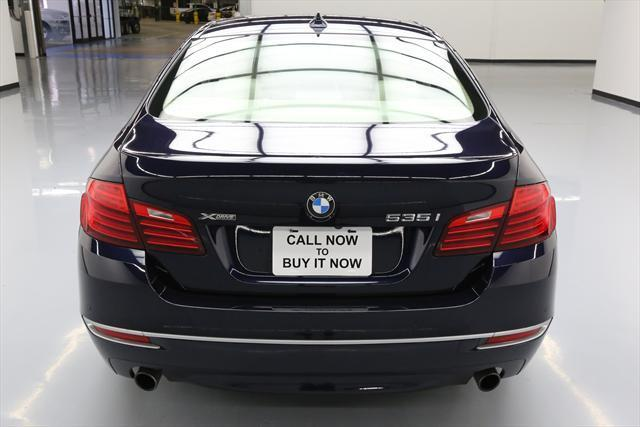 2014 BMW 5-Series (Blue/Tan)